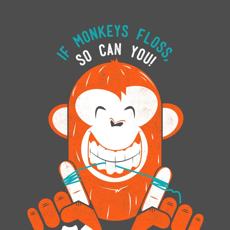 LONG-TAILED MACAQUE monkeys teach their young how to floss using strands of hair! If they can floss, so can you! #funfact #parkridgedentist