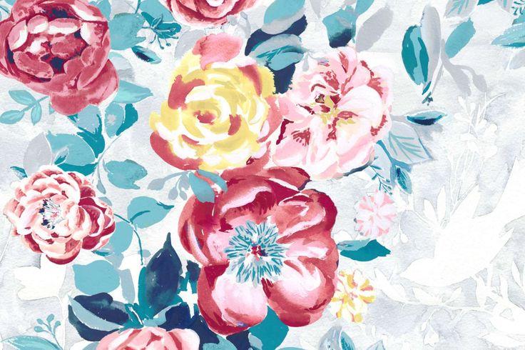 Cerise - painted by Georgie Daphne