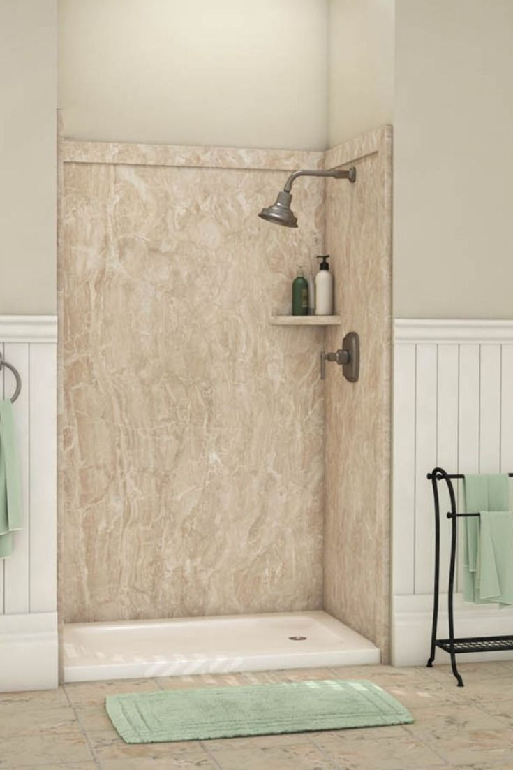 Flexstone Shower : flexstone, shower, FlexStone, Shower, Surrounds, Small, Bathroom, Remodel,, Cheap, Remodel