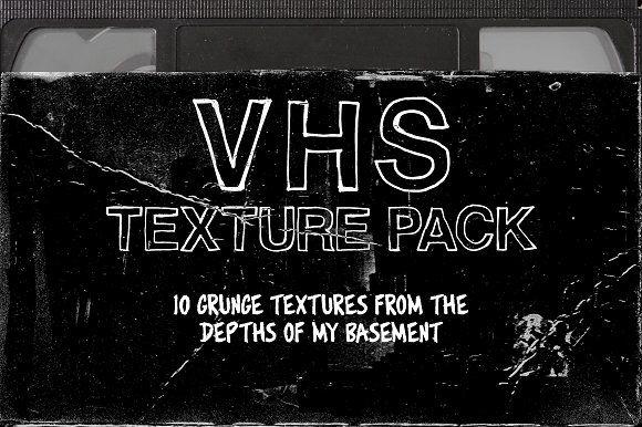Vhs Texture Pack Texture Packs Texture Graphic Design Texture