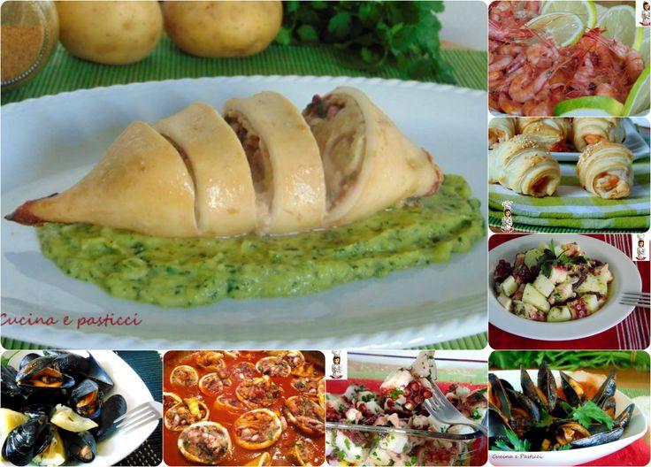 Raccolta ricette antipasti di mare cucina e pasticci for Ricette antipasti di pesce