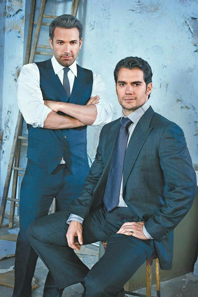 Henry Cavill and Ben Affleck
