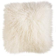 After I saw this and saw boots with the added detail - thought it was fur - but it's mongolian wool. Fluffy and light.
