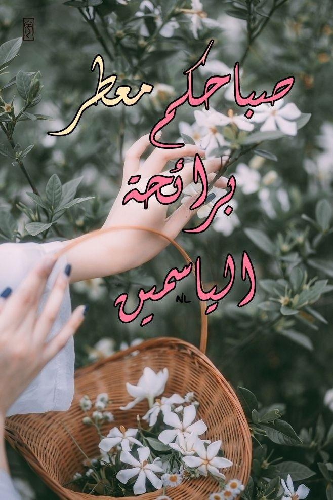 صباحكم معطر برائحة الياسمين Good Morning Gif Morning Greetings Quotes Good Morning Arabic