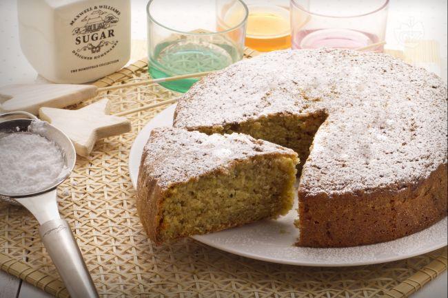 Torta dolce di zucchine fatta x errore con 400gr di zucchine, stampo ciambella 28cm