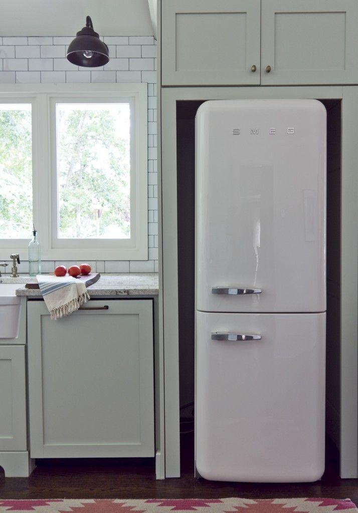 Smeg fridge, from Milk and Honey Home