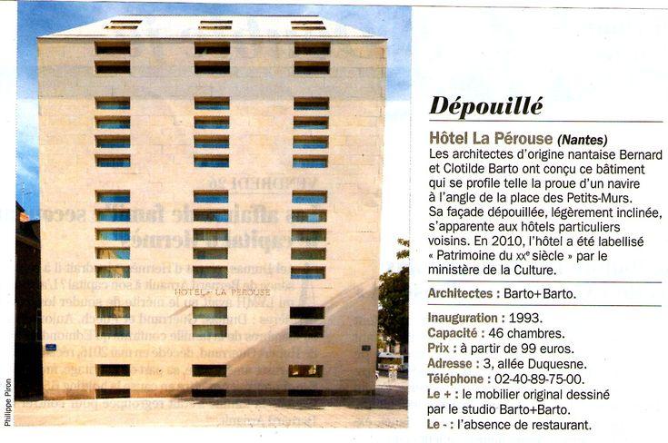 Hôtel La Pérouse à NANTES