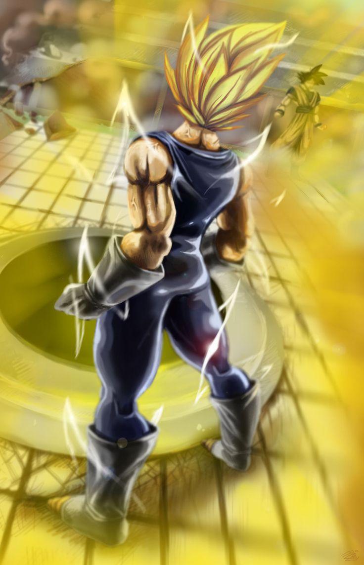 DBZ Vegeta Goku