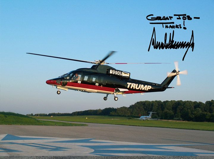 Donald Trump Helicopter | Travel and Leisure