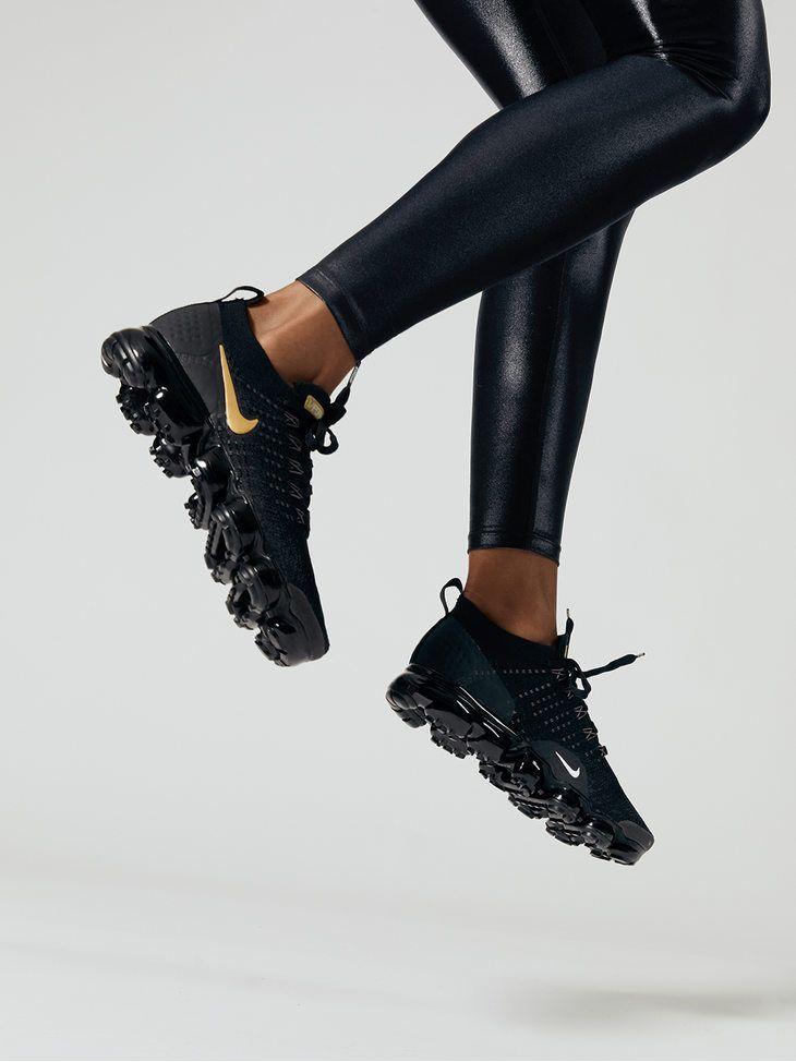 0bbd2ab0bbe37 NIKE Nike Air Vapormax Flyknit 2 Black Mtlc gold-mtlc platinum-vast grey  SNEAKERS