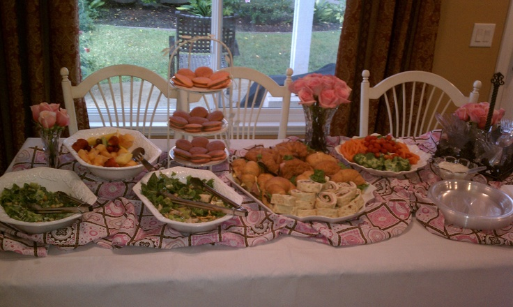 baby shower food table baby shower pinterest tables the o