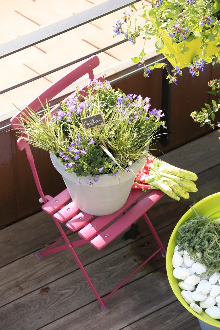 Les 245 meilleures images propos de d co balcons id es - Deco balcon zen ...