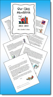 Class Handbook Freebie to Customize! Download Laura Candler's class handbook in Word form to customize and use in your classroom. You can also download a customizable class handbook cover.: Back To Schools, Free Class, Classroom Freebies, Candler Samples, Seasons Freebies, Class Handbook, Handbook Covers, Handbook Freebies, Classroom Handbook