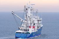 Atunero Año: 2014 - Armador: Overseas Tuna Co.- País:Seychelles Eslora: 95,70m - Manga: 15,20m Galería | Vídeo|e-photobook