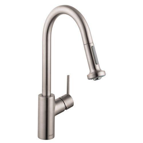 Hansgrohe Talis S Variarc 14877 800 kihúzható zuhanyfejes mosogató csaptelep (14877800) - SzaniterPláza