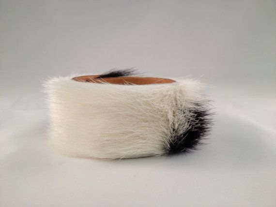 The Ammy Cowhide Leather Cuff, Equestrian Tack Store Jewelry