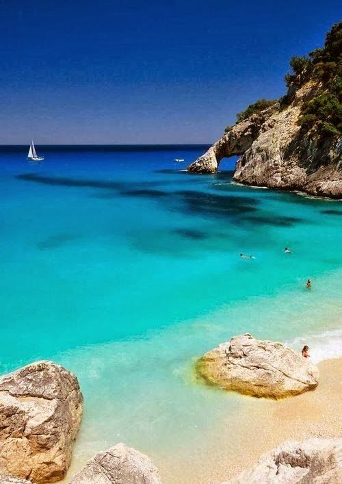 Sardinia, Italy would love tobe able to stand on one of GOD's beautiful created land