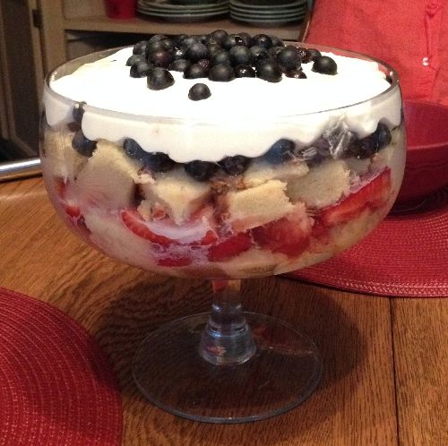 A Berry Good Trifle | Flamingo Musings