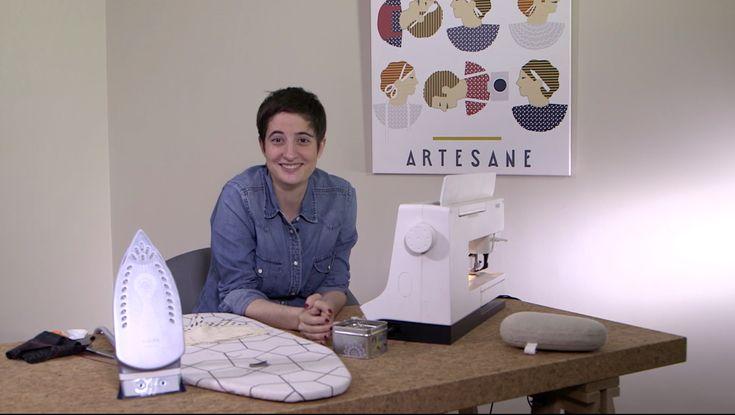 Apprendre à coudre en ligne et en video avec Annie Coton, c'est possible et c'est gratuit! Ce cours de couture en video est en accès illimité.