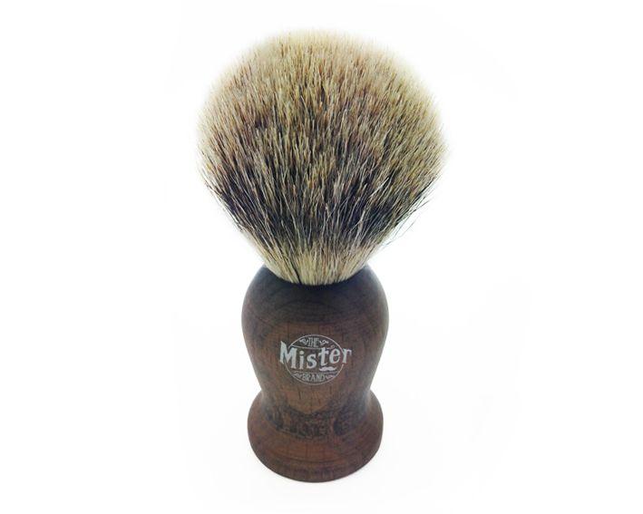 MISTER BEST BADGER HAIR SHAVE BRUSH $55