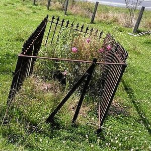 Mystery surrounds lonely grave on main highway