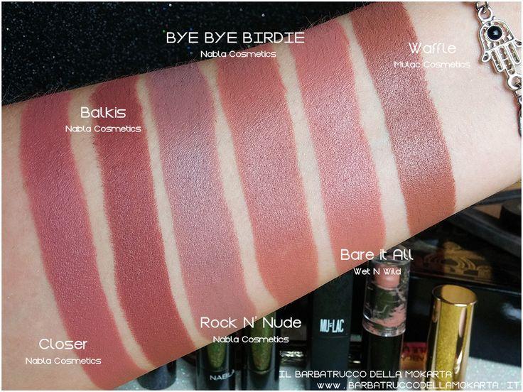 9 best swatch nabla cosmetics images on pinterest swatch - Diva crime closer ...