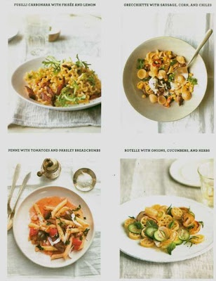 Martha Stewart Living June 2013 Recipes for What's For Dinner -  All pasta dishes which I love!