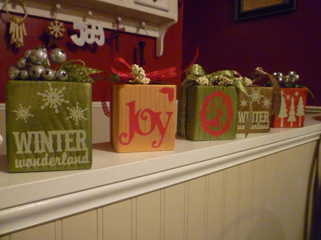 67 best ideas about christmas decor on pinterest for Decoration 4x4