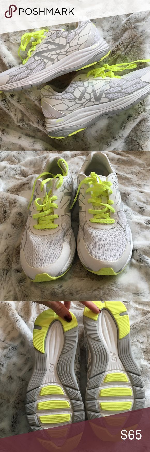 NEW! Women's New Balance WW1745 Walking Shoe BRAND NEW - NEVER WORN! White New Balance WW1745 women's walking shoe. Size 7. Retails for $85 (see photo 4) New Balance Shoes Athletic Shoes