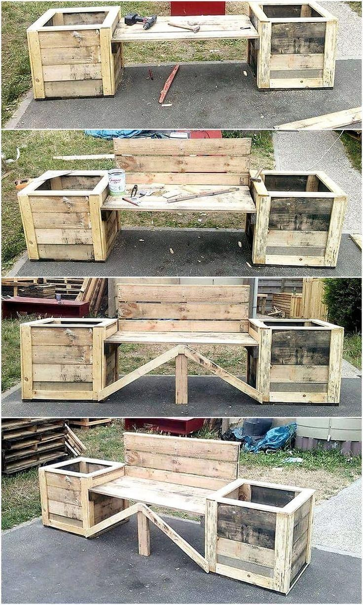 Building Furniture Out Of Pallets   Standard Pallet Weight ...