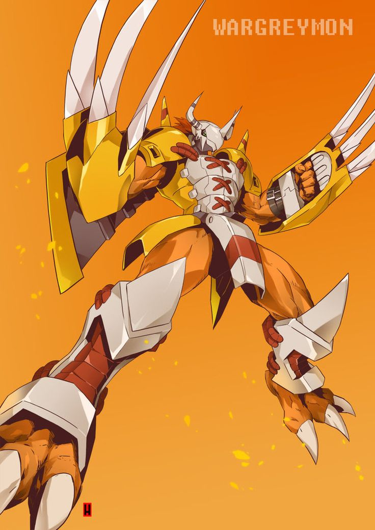 WARGREYMON by the-hary on DeviantArt
