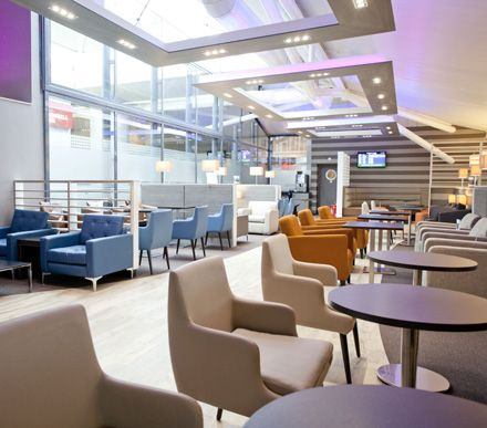 executive lounge | ... , the new Aspire Lounge is the perfect way to unwind before you fly