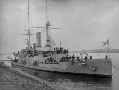 HERLUF TROLLE Class coastal defense battleship/ironclad