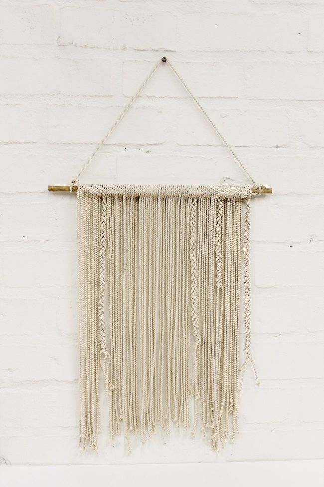 DIY Plaited Wall Hanging | Zana