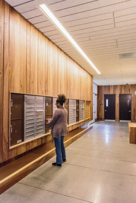 1000 images about mailroom design on pinterest one for Apartment database design