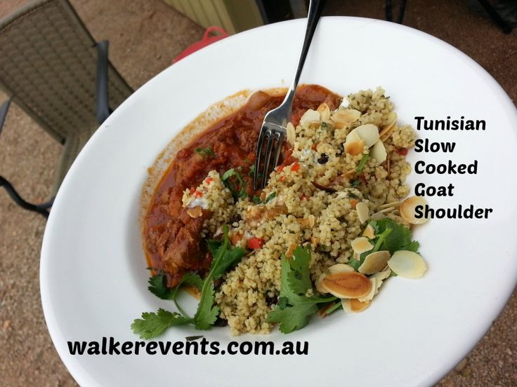 Behind the Grove - Tunisian Slow Cooked Goat Shoulder - www.walkerevents.com.au | www.walkerevents.com.au