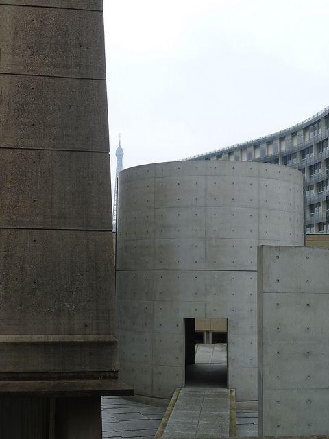 Tadao Ando Meditation Space, UNESCO Paris_3 by bbonthebrink, via Flickr