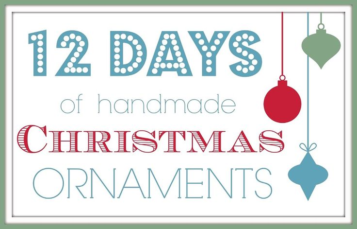 Today is the last day of my Handmade Christmas Ornaments series. I really hope you enjoyed it and got some good Christmas crafting inspiration. Believe it or not I've still got more Christmas crafts to share soon. Now if only I could find time to get all of my shopping done! For this final day, …