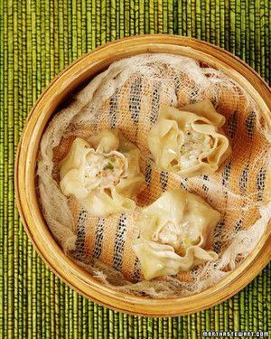 This tasty recipe for shrimp shau mai comes courtesy of Michael Eisner.