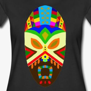 Traditional African Mask - Women's Premium T-Shirt