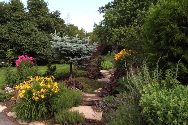 Pathways to Perennials - Pathways through the gardens allow your visitors to admire all of your hard work.