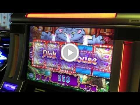 Free Video - Rapunzel Slot Machine Bonus - Kitty Pickin' - BIG WIN!