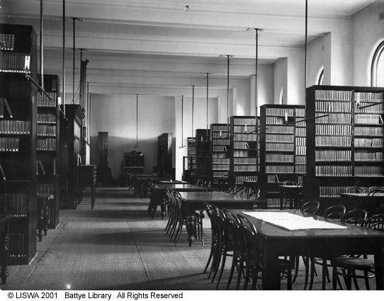 007331D: Victoria Public Library reading room