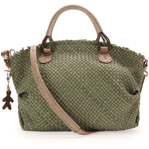 Henry Beguelin Woven Leather Satchel Bag and other apparel, accessories and trends. Browse and shop 8 related looks.