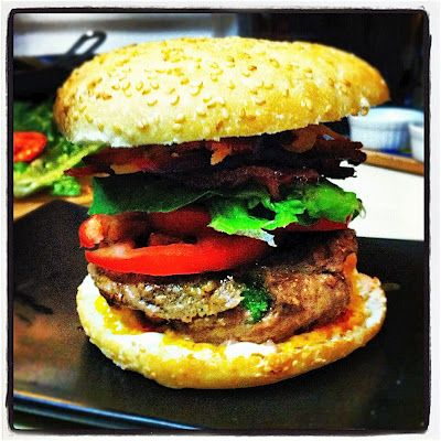 Stuffed Burgers aka Juicy Lucy | Meals | Pinterest