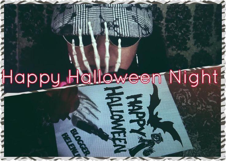 Happy Halloween Night|Blogger HelenLin