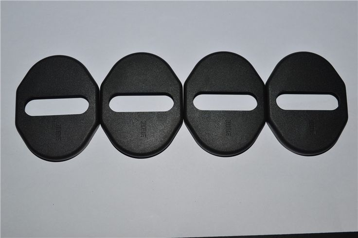 Black ! For Mitsubishi Outlander 2013 - 2016 / Pajero Sport 2009 - 2013 / ASX 2009 - 2014 Plastic car Door Lock Protector Cover  #Affiliate