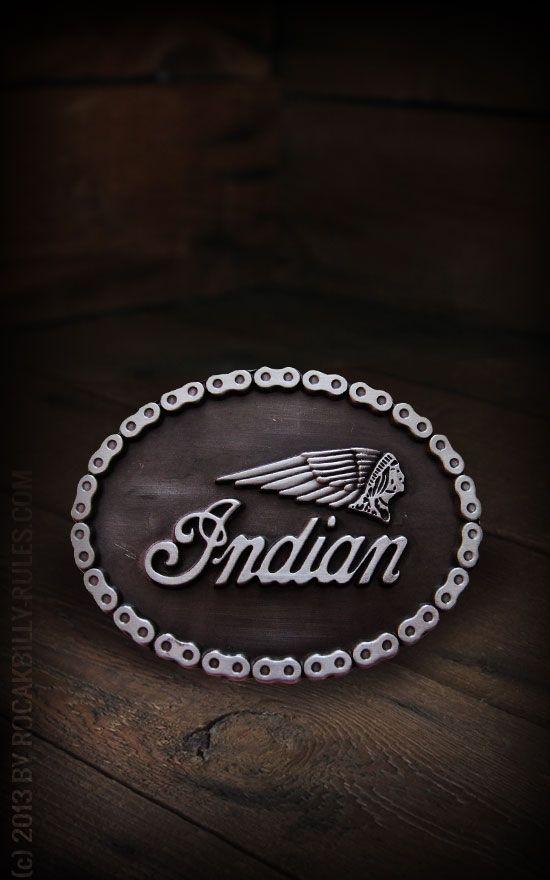 belt Buckle - Indian