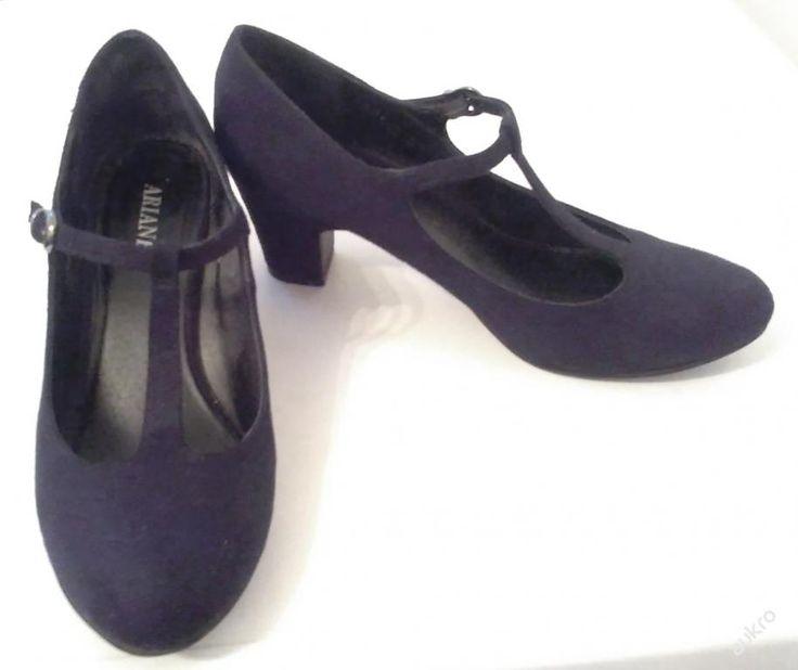 Černé krásné boty, Ariane, vel. 38