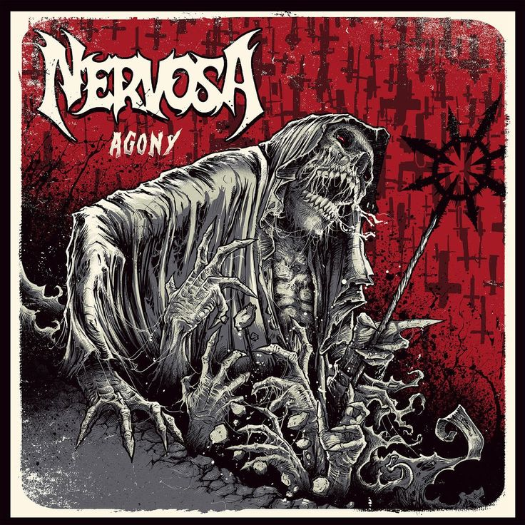 Brazil female thrash metal group nervosa have just unveiled details on the bands new album their second studio album will be called agony and we can see